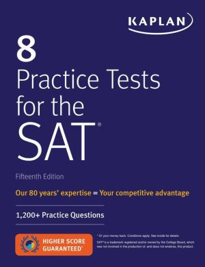 8 Practice Tests for the SAT - ABC Books