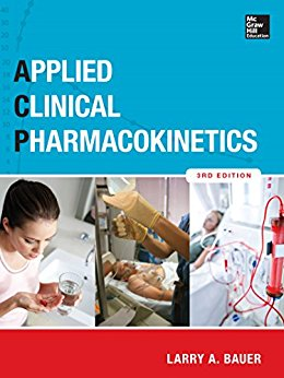 Applied Clinical Pharmacokinetics ISE, 3e