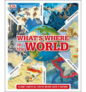 What's Where in the World - ABC Books