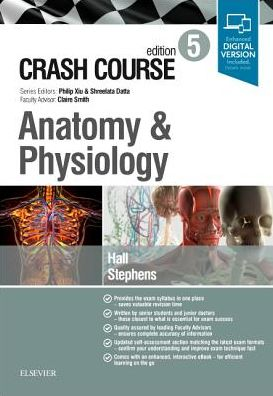 Crash Course Anatomy and Physiology, 5th Edition - ABC Books