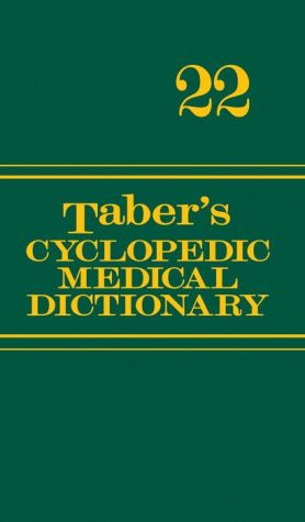 Taber's Cyclopedic Medical Dictionary (Deluxe Gift Edition Version), 22E ** - ABC Books