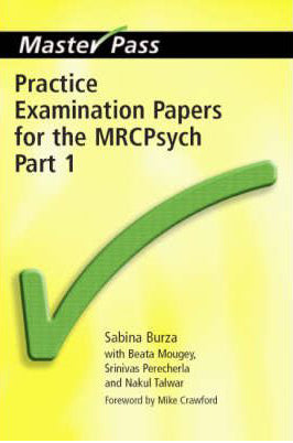MasterPass: Practice Exam Papers MRCpsych Pt 1 - ABC Books
