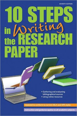 10 Steps in Writing the Research Paper 7e - ABC Books
