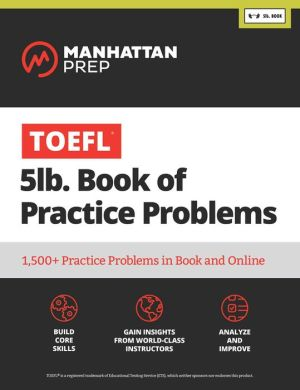 TOEFL 5lb Book of Practice Problems - ABC Books