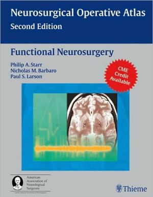 Functional Neurosurgery, Neurosurgery Operative Atlas - ABC Books