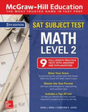 McGraw-Hill Education SAT Subject Test Math Level 2, 5th Edition