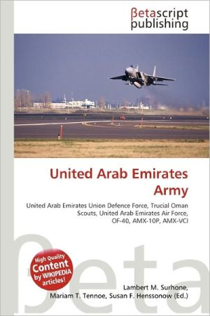 United Arab Emirates Army - ABC Books