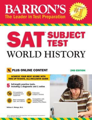 Barron's SAT Subject Test World History : with Bonus Online Tests, 2nd Edition - ABC Books