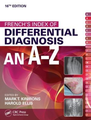 French's Index of Diff Diagnosis A-Z, 16E - ABC Books