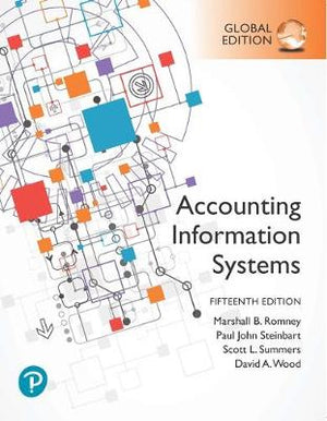Accounting Information Systems, Global Edition, 15e