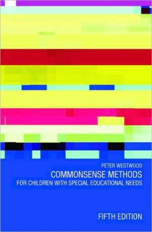 Commonsense Methods for Children with Special Educational Needs - ABC Books
