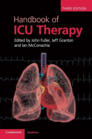 Handbook of ICU Therapy - ABC Books