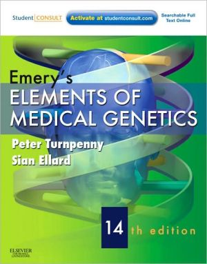 Emery's Elements of Medical Genetics, 14e ** - ABC Books
