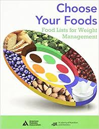 Choose Your Foods: Food Lists for Weight Management - ABC Books