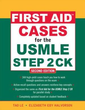 First Aid Cases for the USMLE Step 2 CK ,2e - ABC Books