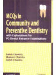 MCQs in Community and Preventive Dentistry with Explanations for PG Dental Entrance Examinations - ABC Books