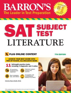 Barron's SAT Subject Test Literature, 7th Edition: with Bonus Online Tests - ABC Books