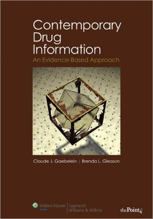 Contemporary Drug Information: An Evidence-Based Approach** - ABC Books