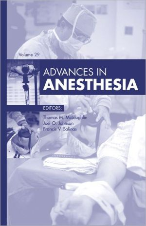 Advances in Anesthesia - ABC Books