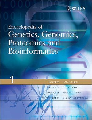 Encyclopedia of Genetics Genomics Proteomics and Bioinformatics 8V Set - ABC Books