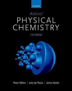 Atkins' Physical Chemistry, 11E