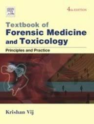 Textbook of Forensic Medicine & Toxicology: Principles & Practice, 4e**