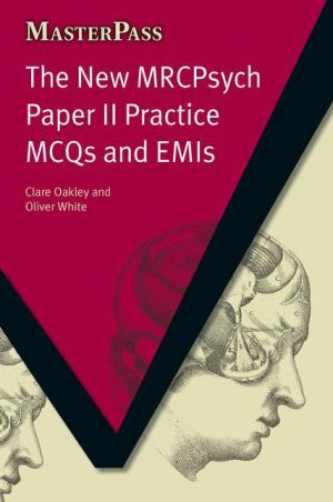MasterPass: New MRCpsych Paper II Practice MCQs & EMIs - ABC Books