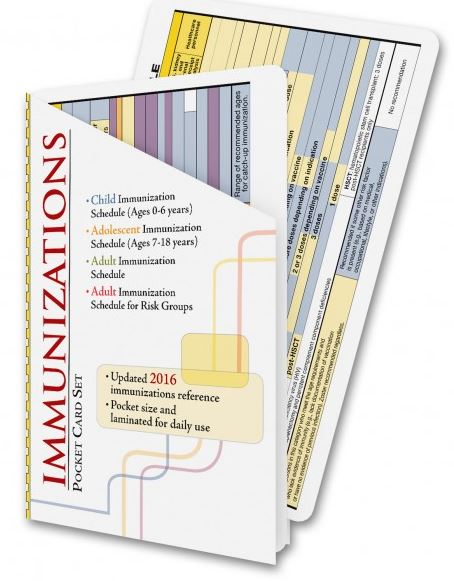 2016 Immunization Card Set - ABC Books