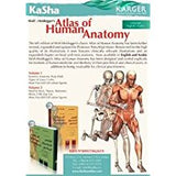 أطلس التشريح البشري Wolf-Heidegger?s Atlas of Human Anatomy - 6th Arab 2-VOL