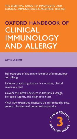 Oxford Handbook of Clinical Immunology and Allergy, 3e - ABC Books