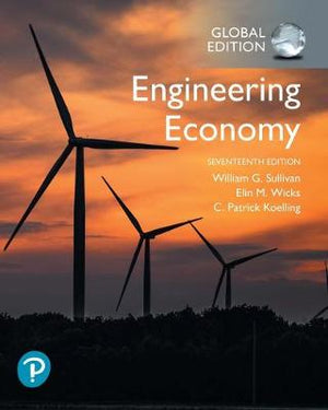 Engineering Economy, Global Edition, 17e