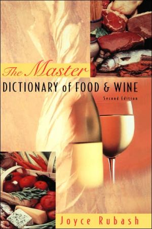 The Master Dictionary of Food and Wine, 2nd Edition - ABC Books