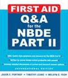 First Aid Q&A for the NBDE Part II, IE - ABC Books