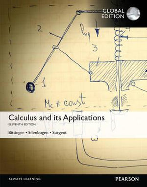 Calculus And Its Applications, Global Edition, 11e