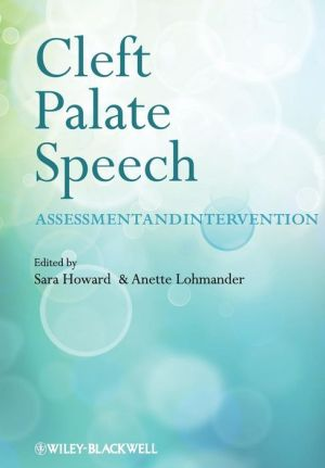 Cleft Lip and Palate - Assessment and Intervention - ABC Books