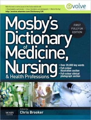 Mosby's Dictionary of Medicine, Nursing and Health Professions UK Edition - ABC Books
