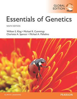 Essentials of Genetics, Global Edition, 9e - ABC Books