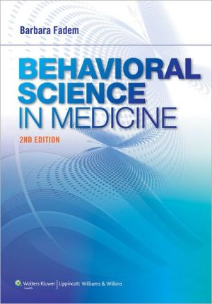 Behavioral Science in Medicine, 2e - ABC Books
