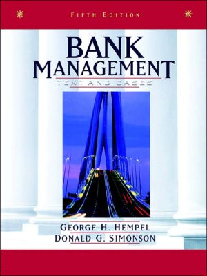 Bank Management - Text & Cases 5e (WSE) - ABC Books