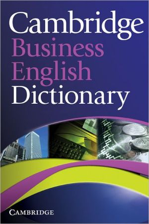 Cambridge Business English Dictionary - ABC Books