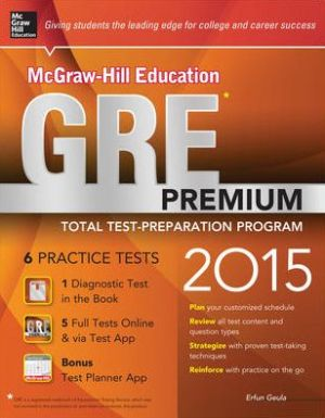 McGraw-Hill Education GRE Premium 2015 ** - ABC Books