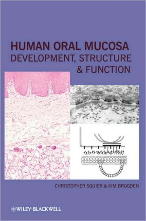 Oral Human Mucosa: Development, Structure and Function