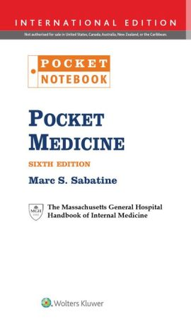 Pocket Medicine: The Massachusetts General Hospital Handbook of Internal Medicine (Pocket Notebook Series), 6e- Paperback - ABC Books