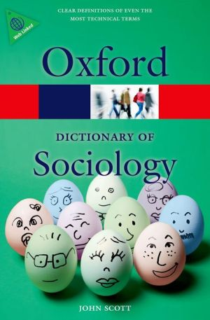 A Dictionary of Sociology 4/e