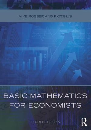 Basic Mathematics for Economists - ABC Books