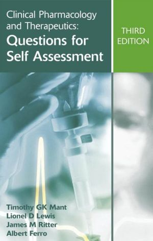 Clinical Pharmacology and Therapeutics: Questions for Self Assessment, 3e - ABC Books
