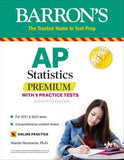 AP Statistics Premium: With 9 Practice Tests (Barron's Test Prep), 11e
