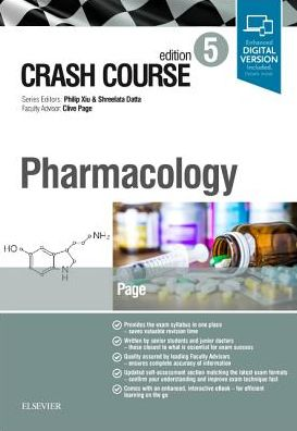 Crash Course: Pharmacology, 5th Edition - ABC Books