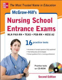 McGraw-Hill's Nursing School Entrance Exams with CD-ROM, 2e: Strategies + 16 Practice Tests
