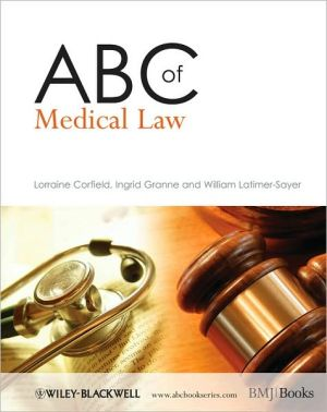 ABC of Medical Law - ABC Books